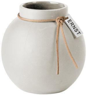 ERNST Vase klein weiß